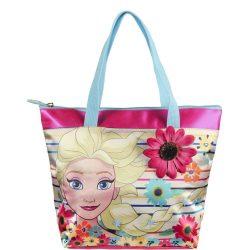 Elsa virágos fukszia kistáska