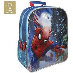 Pókember világító iskolatáska