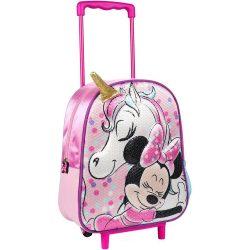 Minnie 3D gurulós táska