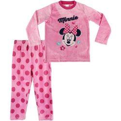 Minnie rózsaszín plüss pizsama