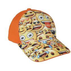 Emoji narancs baseball sapka