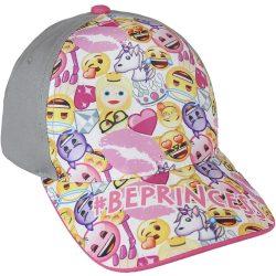 Emoji princess baseball sapka