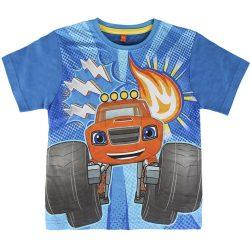 Láng és a szuperverdák türkiz póló