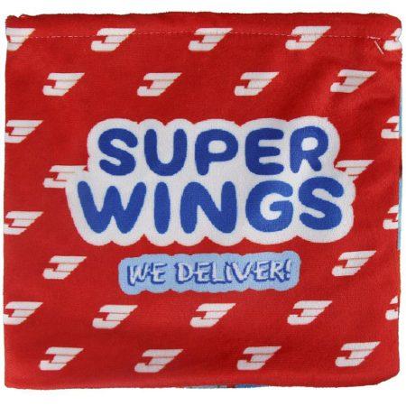 Super Wings polár csősál