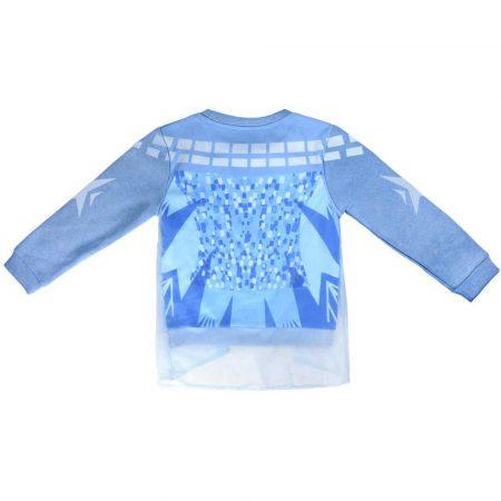 Jégvarázs kék pulóver