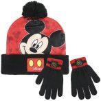 Mickey sapka-kesztyű szett