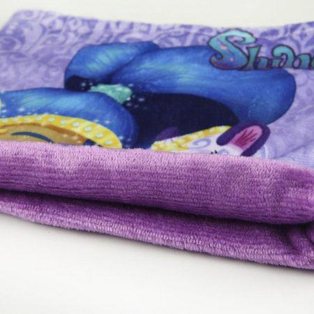 Shimmer és Shine lila csősál