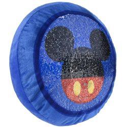 Mickey átfordítható flitteres díszpárna