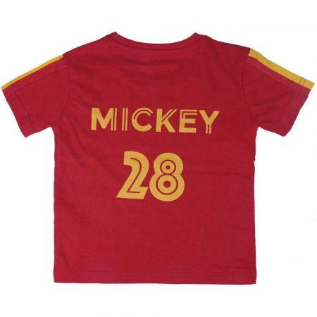Mickey-focis piros póló