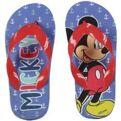Mickey piros-pántos flip-flop