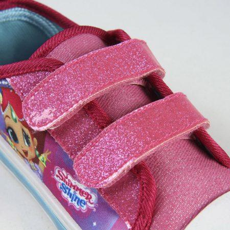 Shimmer és Shine villogó vászoncipő
