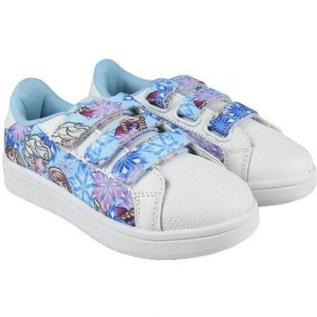 Jégvarázs fehér-türkiz cipő