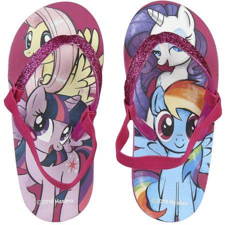 My little pony csillám-pántos flip-flop