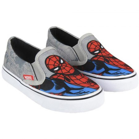 Pókember szürke vászoncipő