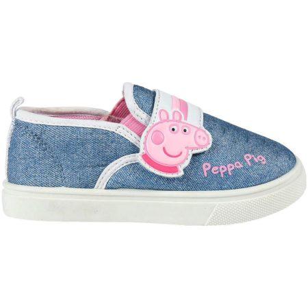 Peppa farmerkék vászoncipő