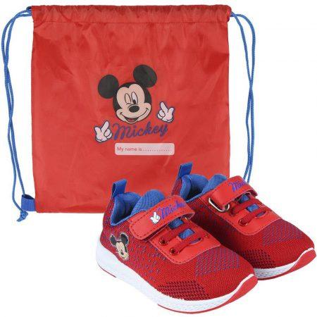 Mickey sportcipő tornazsákkal
