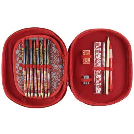Verdák 3 D töltött tolltartó
