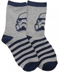 Star Wars szürke zokni