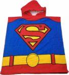 Superman strand törölköző fürdőponcsó