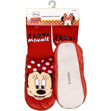 Minnie bézs-talpú zokni