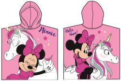 Disney Minnie strand törölköző fürdőponcsó
