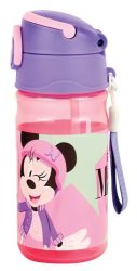 Disney Minnie műanyag kulacs akasztóval 350 ml