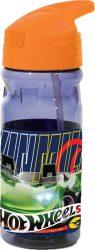 Hot Wheels műanyag kulacs akasztóval 550 ml
