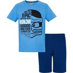 Lego Ninjago kék pizsama