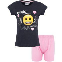 Music Emoji grafit-puncs pizsama