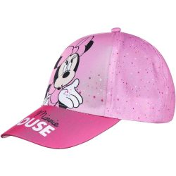 Minnie pöttyös rózsaszín baseball sapka