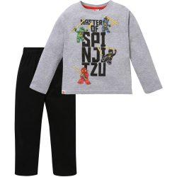 Spinjitzu szürke-fekete pizsama
