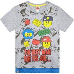 Lego szürke póló