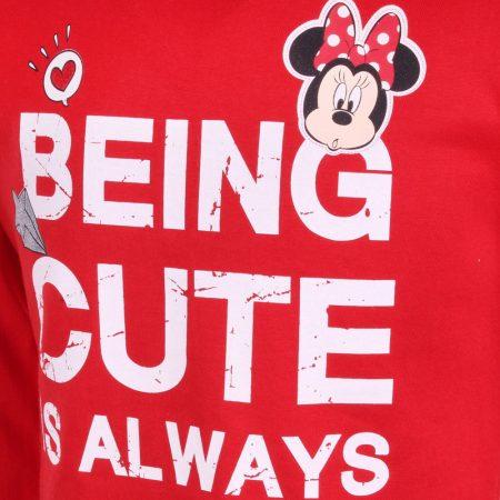 Minnie Being Cute piros felső