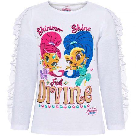 Shimmer és Shine Divine fehér felső