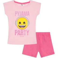 Emoji rózsaszín pizsama
