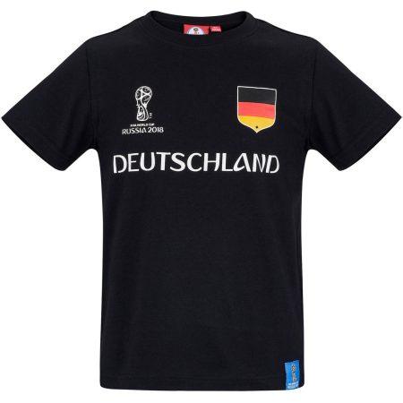 Deutschland fekete póló