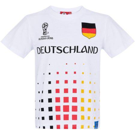 Deutschland fehér póló