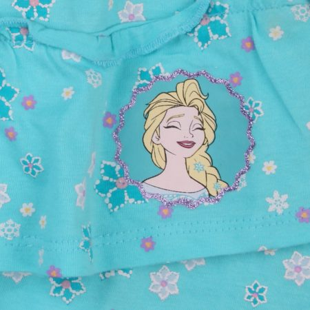 Elsa virágos türkiz szoknya