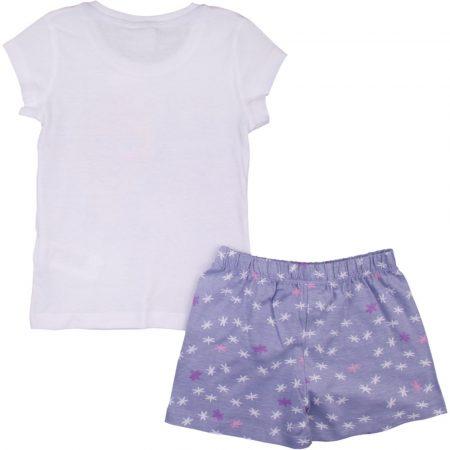 Elsa fehér-lila pizsama