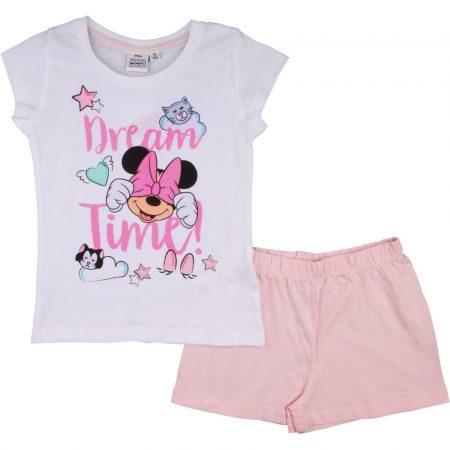Minnie fehér-púder pizsama