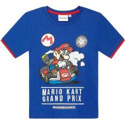 Mario kék póló
