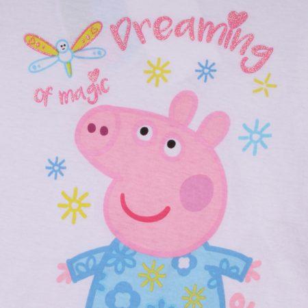 Peppa fehér-puncs pizsama