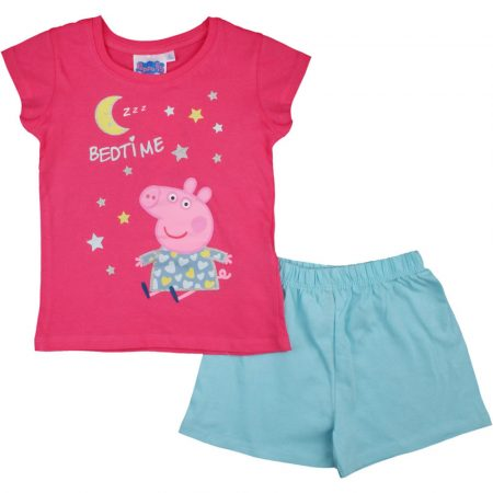 Peppa pink-kék pizsama