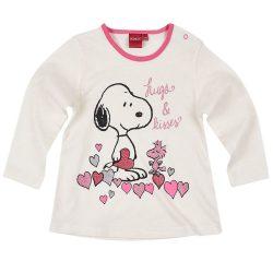 Snoopy törtfehér felső