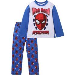 Pókember fehér-kék pizsama