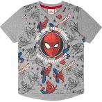 Pókember szürke póló