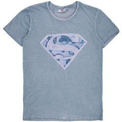 Superman férfi kék póló