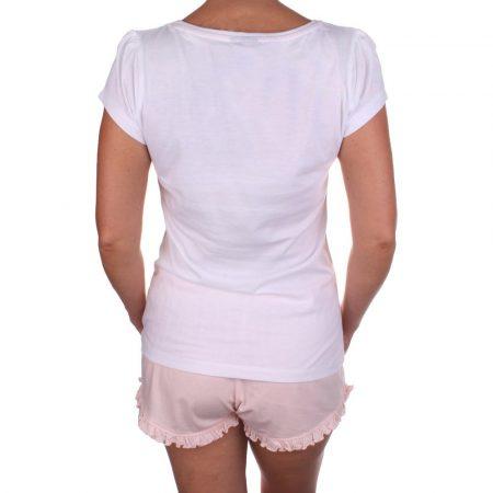 Csingiling női fehér-púder pizsama