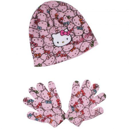 Hello Kitty mintás puncs sapka