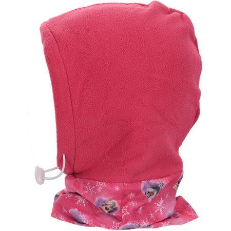 Jégvarázs pink polár sálas sapka